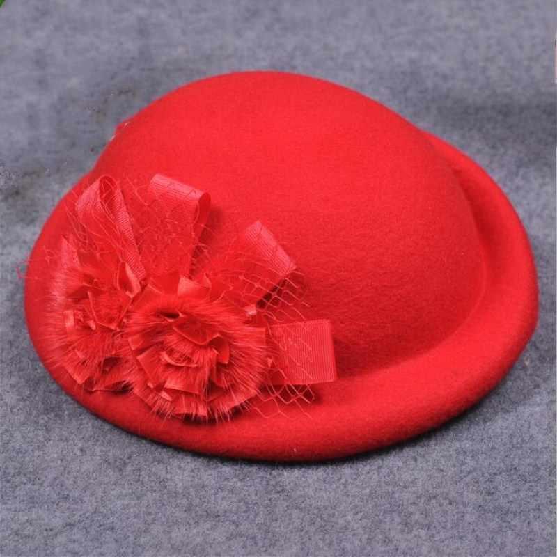 Seioum 2018 Горячая Женская милая британская 100% шерстяная шляпа Женская французская леди художница плоская кепка бант Boina Feminino шляпы для девочек