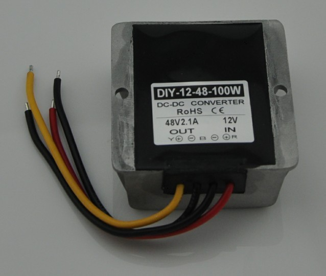 12V 9V-24V Step Up To 48V 21A 100W DC DC Power Converter Waterproof Boost Module Power Supply Adapter Voltage Regulator