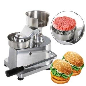 Image 1 - ホット販売ハンバーガーバーガー肉プレス機アルミ合金ハンバーグメーカー100ミリメートル/130ミリメートル直径