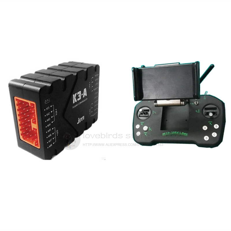 Agricultural drone control system combo JIYI K3 A flight controller + M12 or DK32 datalink remote control