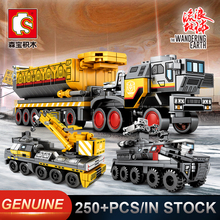 Sembo Military Tank Figther Trucks Comptible LeSet Technic Building Blocks Bricks Educational Toys Gifts Minfigures