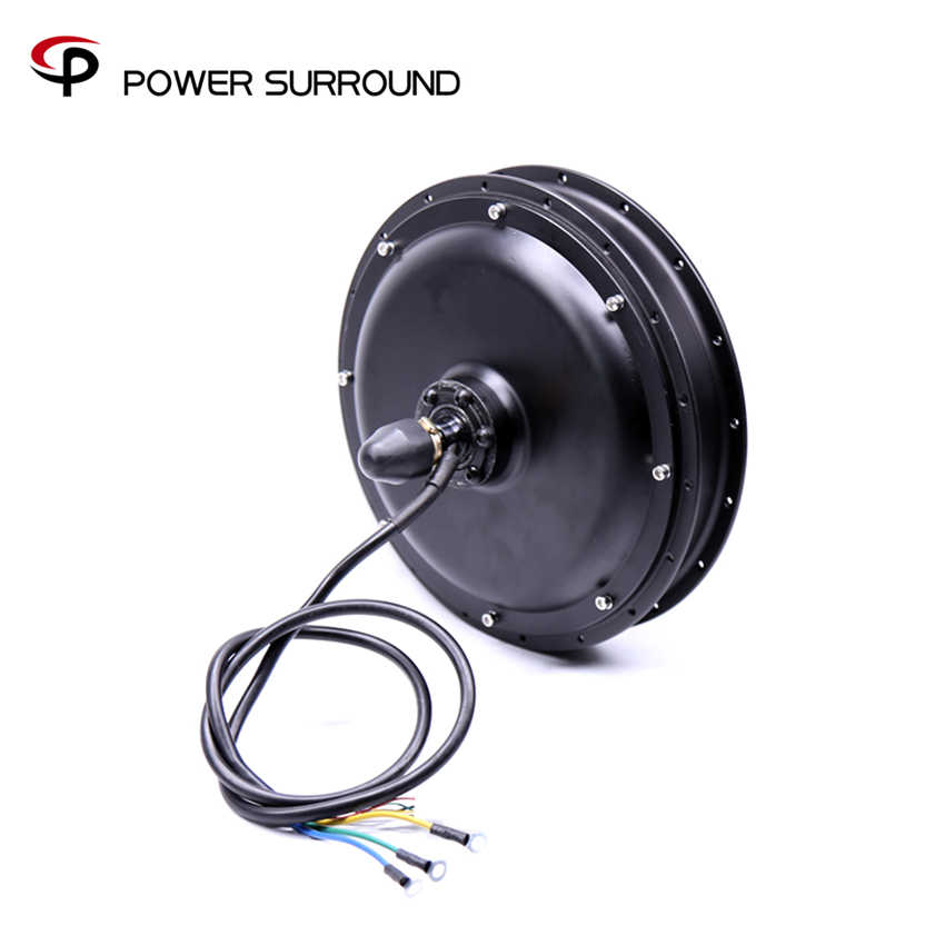 48v 1000w Ebike Brushless Gearless Rear Hub For Electric Bicycle Cycling Diy Conversion Kits