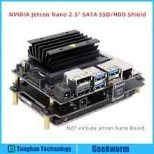 NVIDIA Jetson ננו 2.5 אינץ SATA SSD/HDD אחסון הרחבת לוח USB 3.1 T300 עבור NVIDIA Jetson ננו מפתחים ערכת A02/B01