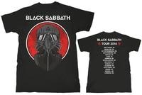 NEW ARRIVAL FASHION MEN WOMEN T SHIRT BLACK SABBATH TOUR 2014 ROCK MUSIC T SHIRT HEAVY