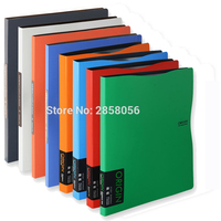 Office a4 Document Folder, Large Plastic Folder 30 40 60 sheets Clear smooth Pockets