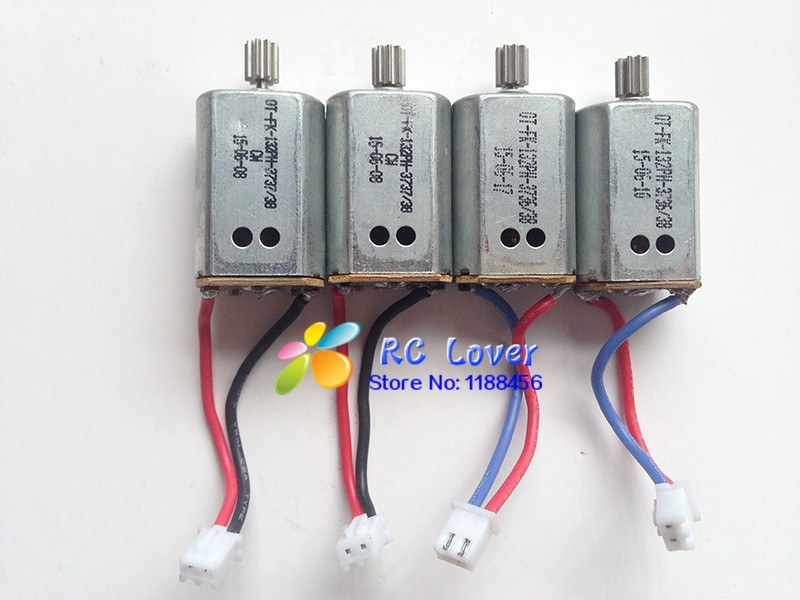 все цены на  4PCS Original Syma X8HW Motor / Syma X8HG Motor / Syma X8HC Motor Engine  Syma X8C spare parts X8C-10-11 free shipping  онлайн