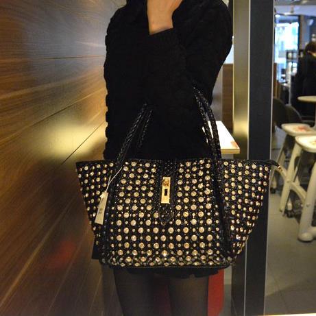 2018 new fashion Women handbag female diamond dumplings bag