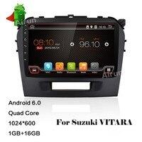 9 Inch Android 6 0 4 Core 1G Car DVD Player For Suzuki Grand Vitara 2015