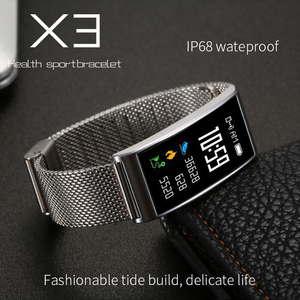 X3 IP68 Waterproof Smart Fitne