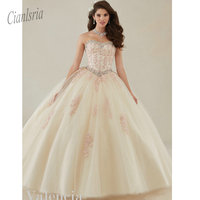 New Arrvial Sweetheart 16 Ball Gown Aqua Puffy Quinceanera Dresses Cheap Quinceanera Gowns 2019 High Quality