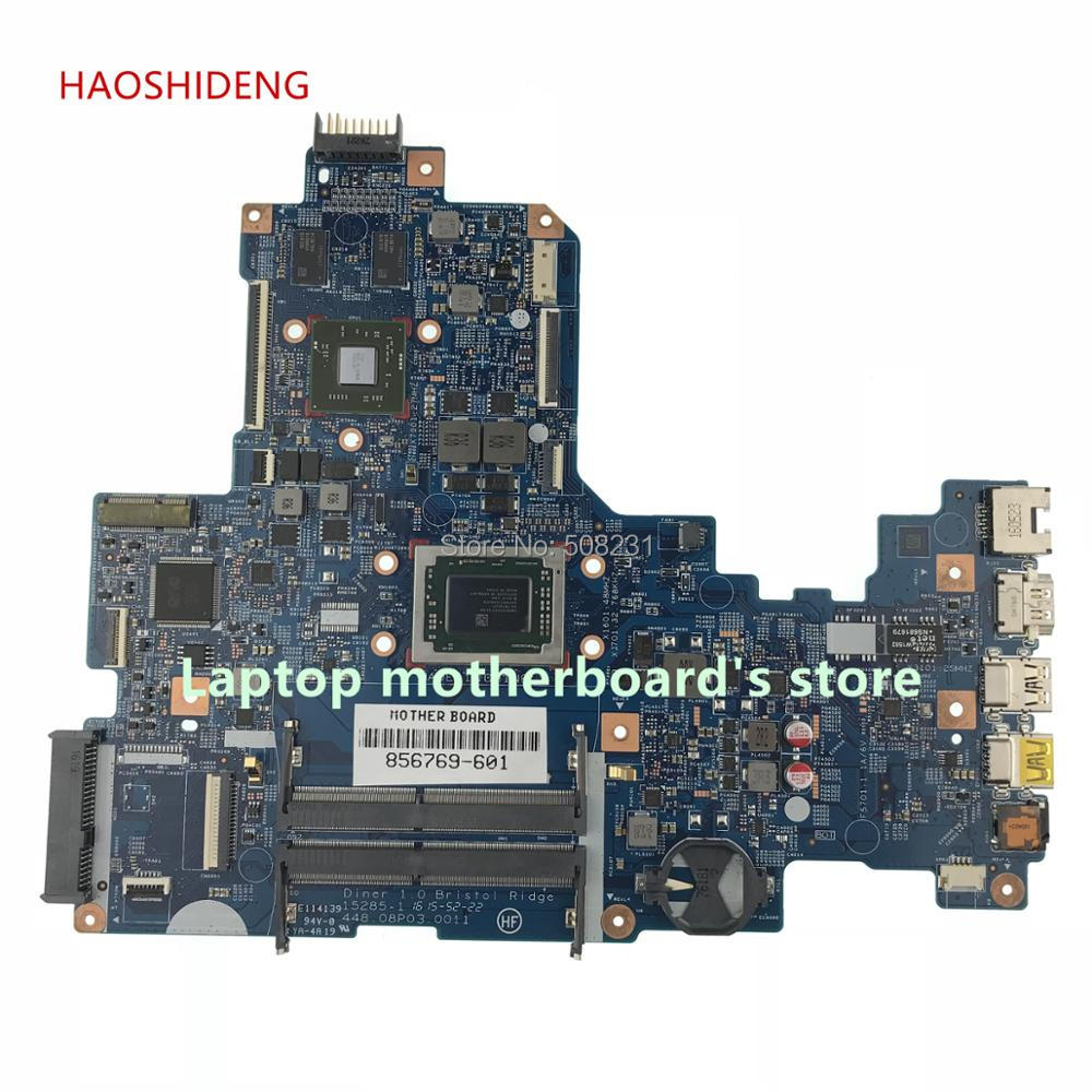 HAOSHIDENG 856769-001 856769-601 mainboard For HP NOTEBOOK 17-Y 17Z-Y laptop motherboard R7M1-70 2GB fully Tested haoshideng 809985 601 809985 001 laptop motherboard for hp pavilion 17 p 17z p notebook day21amb6d0 a76m a10 7300 fully tested