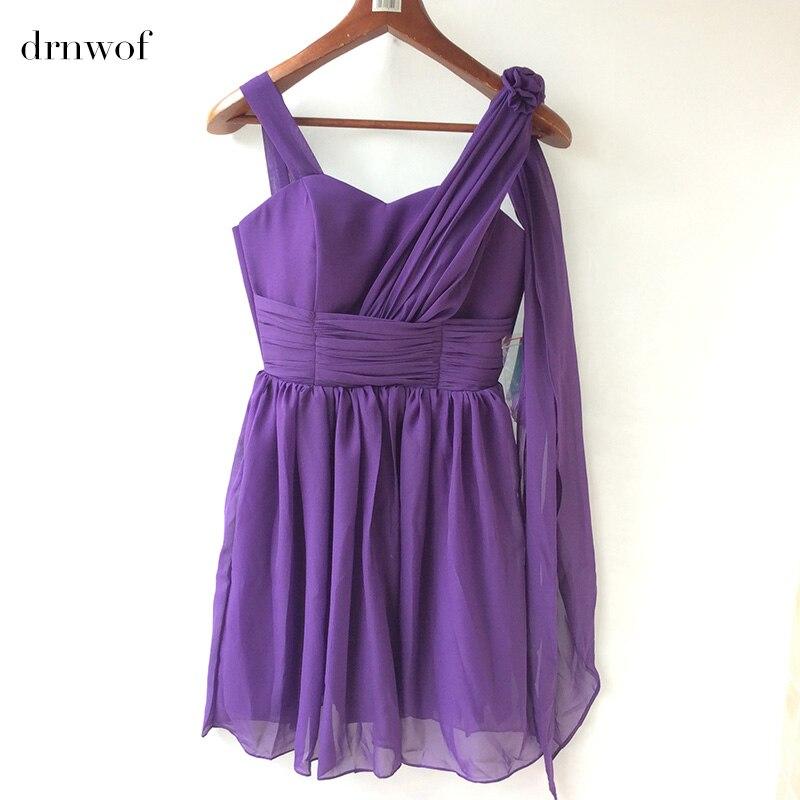 Promoción de Cinta Púrpura De Damas De Honor Vestidos ...