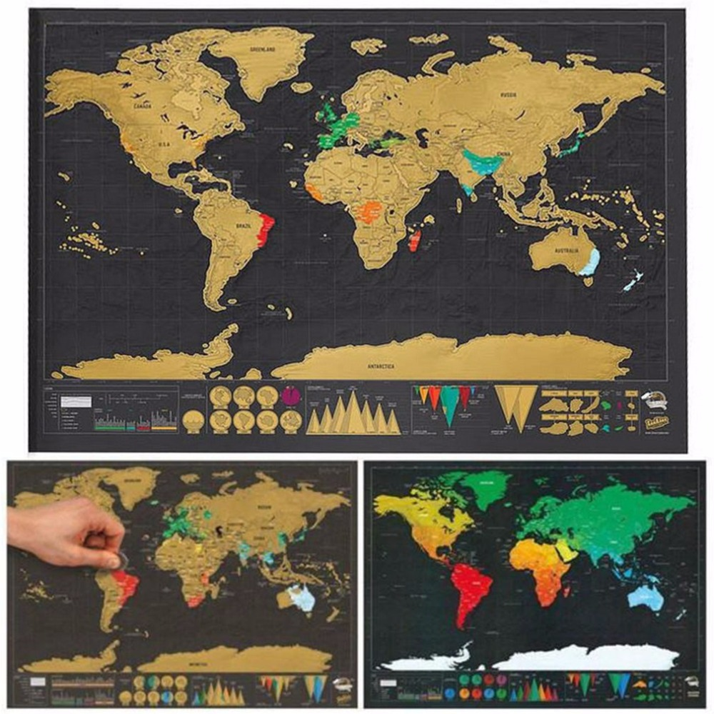 Mini black luxury travel scratch world map holiday travel poster mini black luxury travel scratch world map holiday travel poster personalized gift travel travel card in wall stickers from home garden on aliexpress gumiabroncs Choice Image