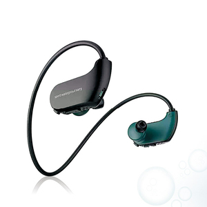 Image 2 - موضة في الهواء الطلق IPX8 مقاوم للماء السباحة مشغل MP3 سماعات رأس رياضية HiFi الموسيقى 4G/8G ذاكرة الغوص تشغيل سماعات الغبار