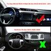 Car Inner Dashboard Cover Dash mat Carpet For Toyota Hilux SR5 4x4 REVO Hi-Rider 8th Gen AN120 AN130 2015 2016 2017 2018 2019 discount