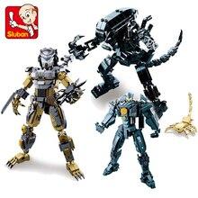 цены 7 Styles Jagged Warrior Series Building Block Set Model Robot Armor DIY Legoes Bricks Educational Toys Kids Gifts