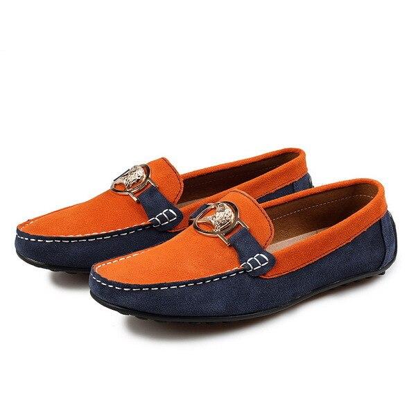 2015 nuevo hombre moda joven mocasines de verano zapatos sin cordones de la  ue 38,