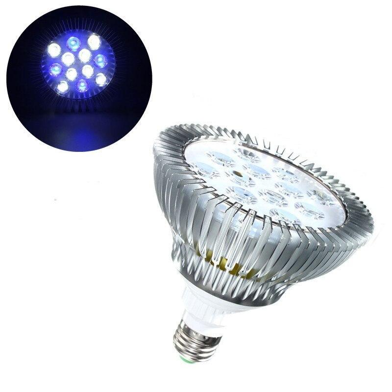 12W E27/B22 LED Coral Reef Plant Grow Light Tank Aquarium Par38 85-265V Professional LED Bulb