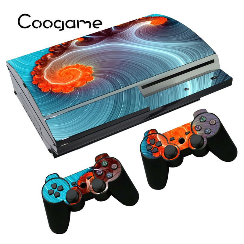 Free Ps3 Console: Customize Sticker For Sony PS3 Fat Console Skin For