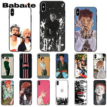 Babaite SEHUN CHANYEOL EXO Customer High Quality Phone Case for iPhone6S 6plus 7 7plus 8 8Plus X XsMAX 5 5S XR 11 11pro 11promax(China)