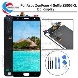 5.5 polegada display lcd painel da tela de toque substituição digitador assembléia Para Asus ZenFone 4 Selfie ZB553KL LCD