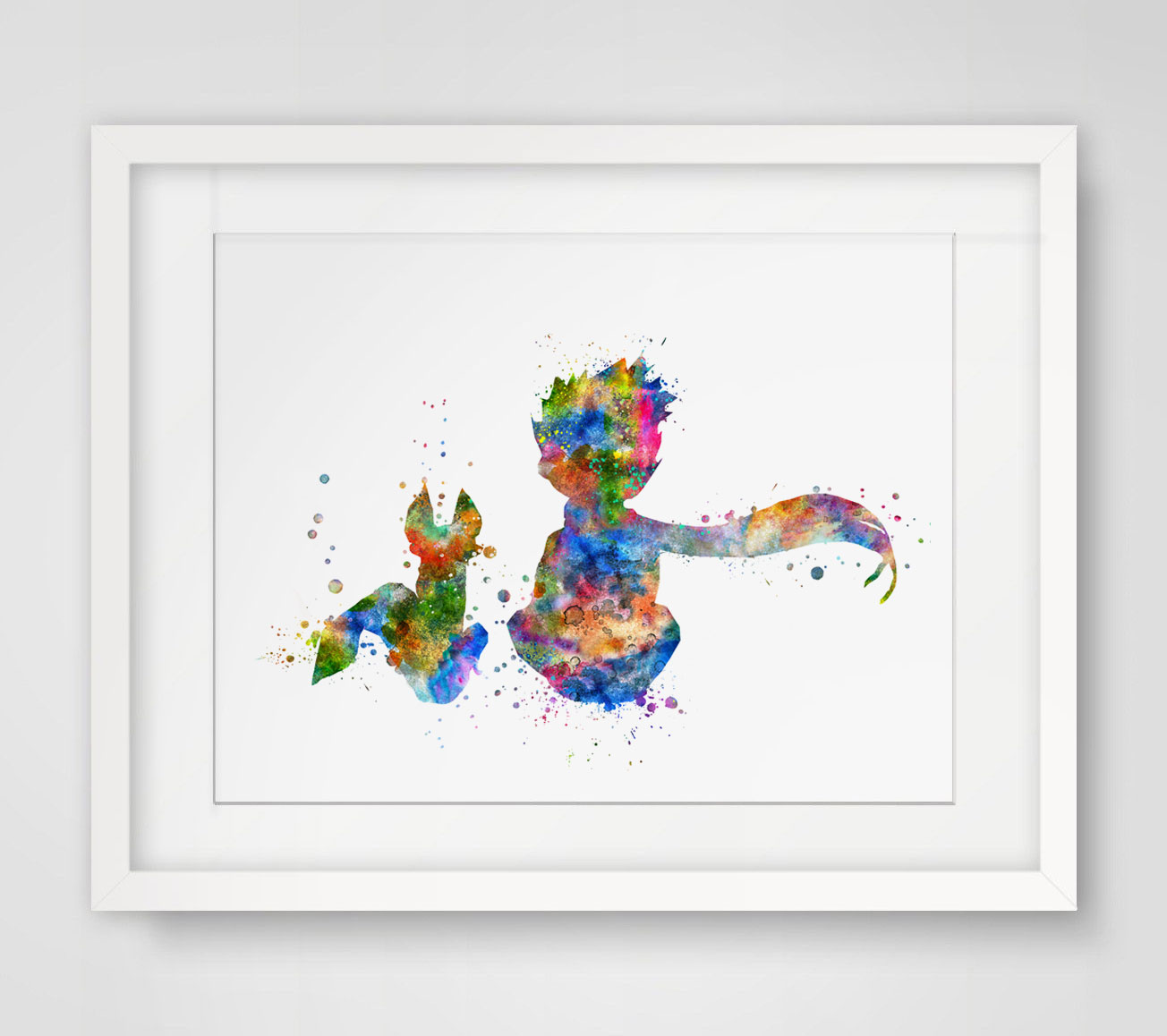 Buy the little prince fox inspired design Decoration le petit prince