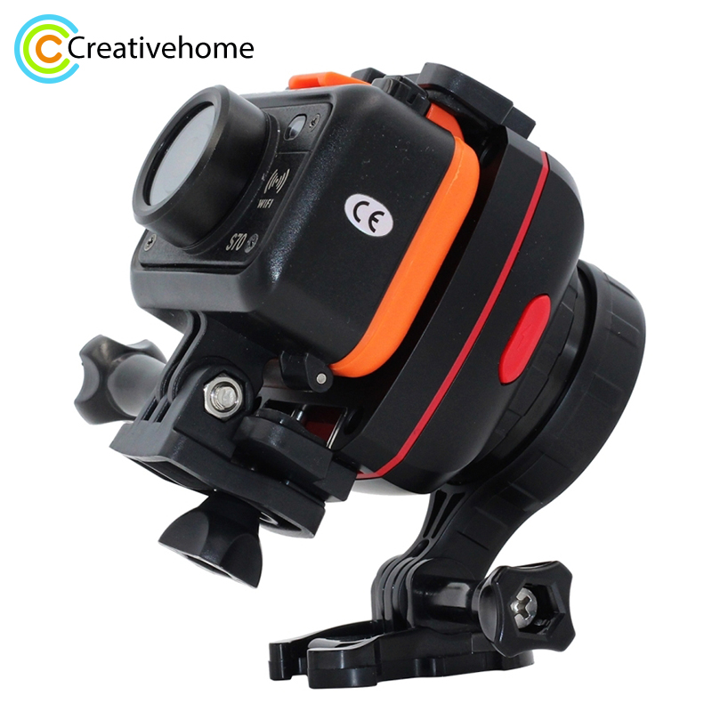 1-Axis Adjustable Gryo Stabiliser / Anti-shake Gimbal for GoPro NEW HERO /HERO6 / 5 /5 Session /4 /3+ /3 /2 /1 and Smartphones new 3 axis gimbal for gopro session fy wgs