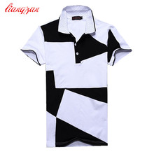 Men Casual Polo Shirts Summer Short Sleeve Slim Fit Breathable Homme Shirts Brand Social Plus Size 6XL Cotton Polo Shirts F2135
