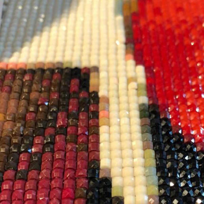 5 יחידות, מלא כיכר & עגול DIY שחור סוס 5d יהלומי ציור צלב תפר רקמת יהלומים דפוסי rhinestones יהלומי פסיפס