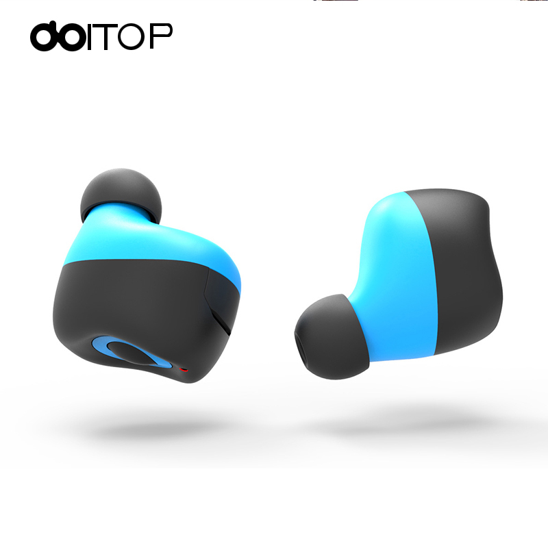 DOITOP Q17 Wireless Mini Bluetooth Earphone Invisible In-ear Long Playtime Car Headset Stereo with Mic for Iphone Smart Phone A3 new dacom carkit mini bluetooth headset wireless earphone mic with usb car charger for iphone airpods android huawei smartphone