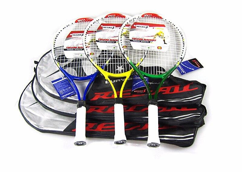 2 шт. высокое качество Junior Теннисная ракетка тренировочная ракетка для детей Молодежные Детские теннисные ракетки