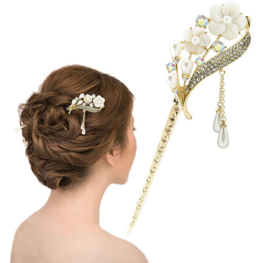 Цветы в волосы алиэкспресс