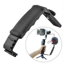 Ulanzi L mikrofon standı Ile 2 Sıcak Ayakkabı için Zhiyun Pürüzsüz Q Sabitleyici/Feiyu Gimbal/Boya By MM1 Mikrofon /Video Işık Standı