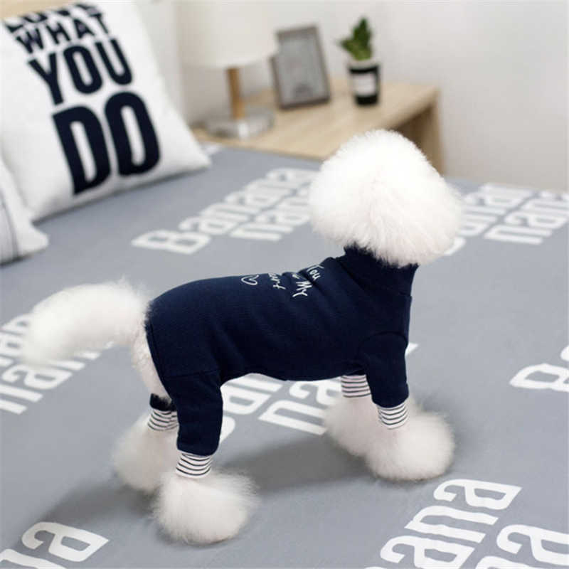 Dog Clothes Winter Small Teddy York Puppy Middle Big Size Labrador Golden Retriever Warm Jumpsuits Six Colors Option