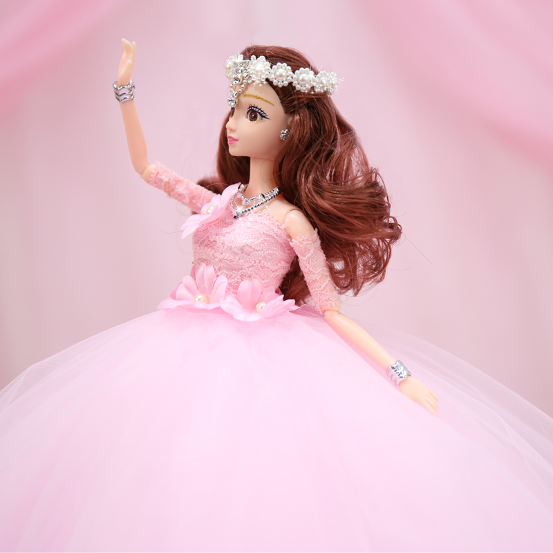 Toy Girl Wedding Dolls Reborn Doll Toys For Girls Baby Reborn Dolls Lol Children's Toys High-end Clothes Dolls Christmas Gifts