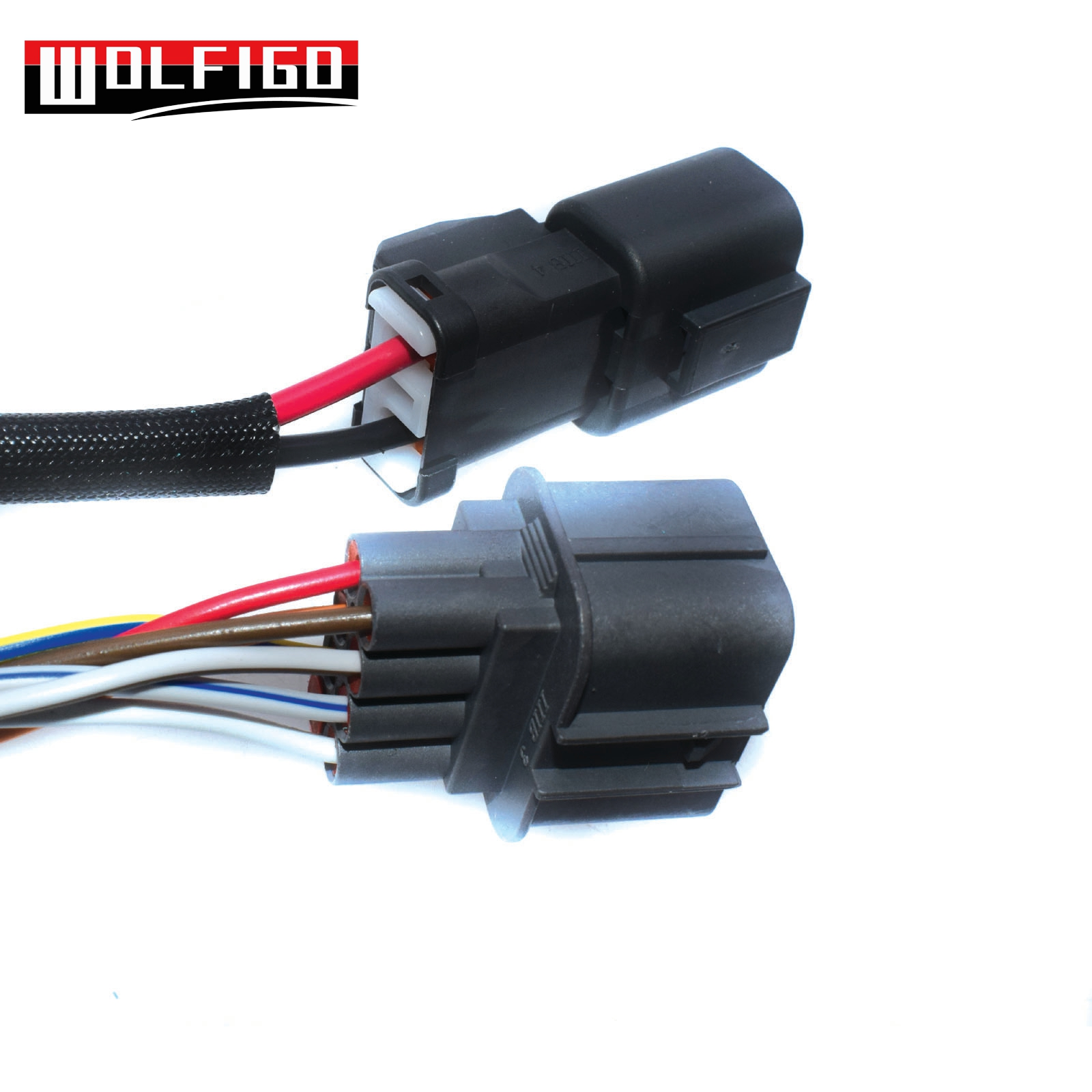 medium resolution of wolfigo new obd1 to obd2 10pin distributor engine jumper adapter harness for honda civic for acura integra diy1035 in air intakes from automobiles