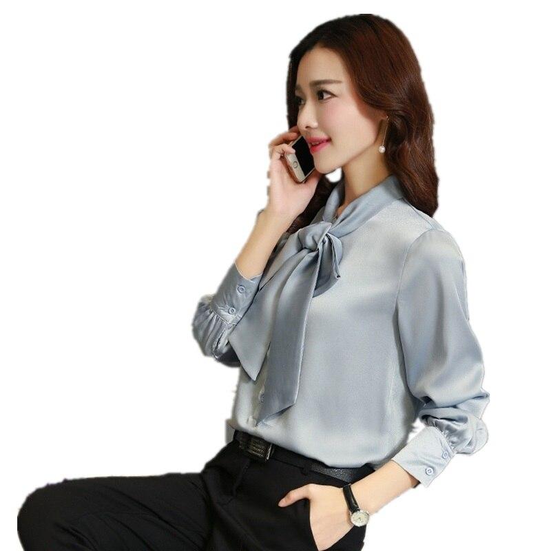 2018 printemps laçage femmes Blouse mode Slim en particulier femmes chemises haute qualité dentelle couleur Pure lin soie haut d'été femmes