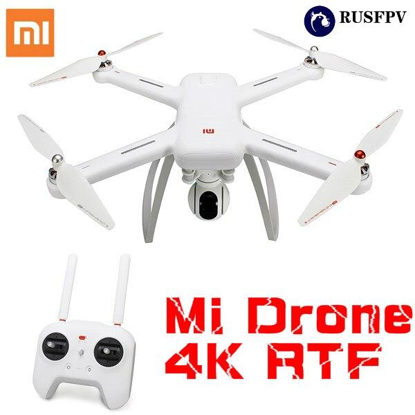 Drone d'origine XIAOMI Mi WIFI FPV avec caméra 4 K 30FPS cardan 3 axes RC quadrirotor RTF