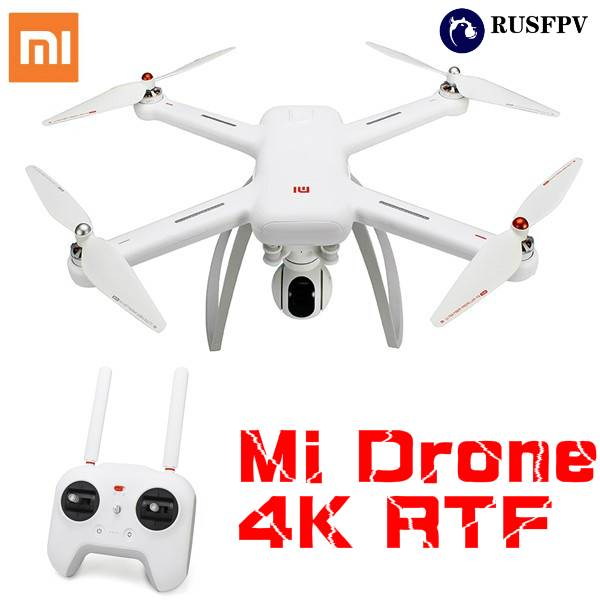 Original XIAOMI Mi Drone WIFI FPV With 4K 30FPS Camera 3-Axis Gimbal RC Quadcopter RTF original yuneec typhoon h 480 pro drone with camera hd 4k rc quadcopter rtf 3 axis 360 gimbal vs dji inspire 2 mavicpro in stock