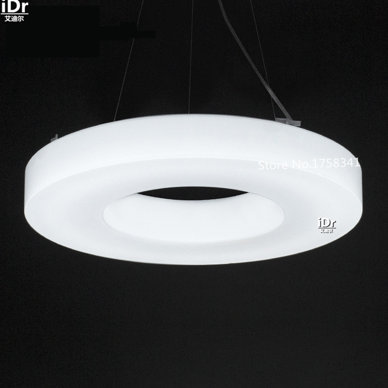 LED ring lamps modern minimalist creative restaurant bedroom den balcony kitchen light meal Chandeliers Rmy 0701