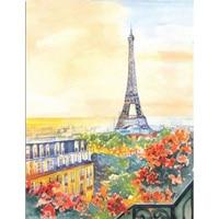 Full Diamond Eiffel Tower Picture 5D Diy Kit Square Diamond Mosaic Needlework Diamond Painting Cross Stitch