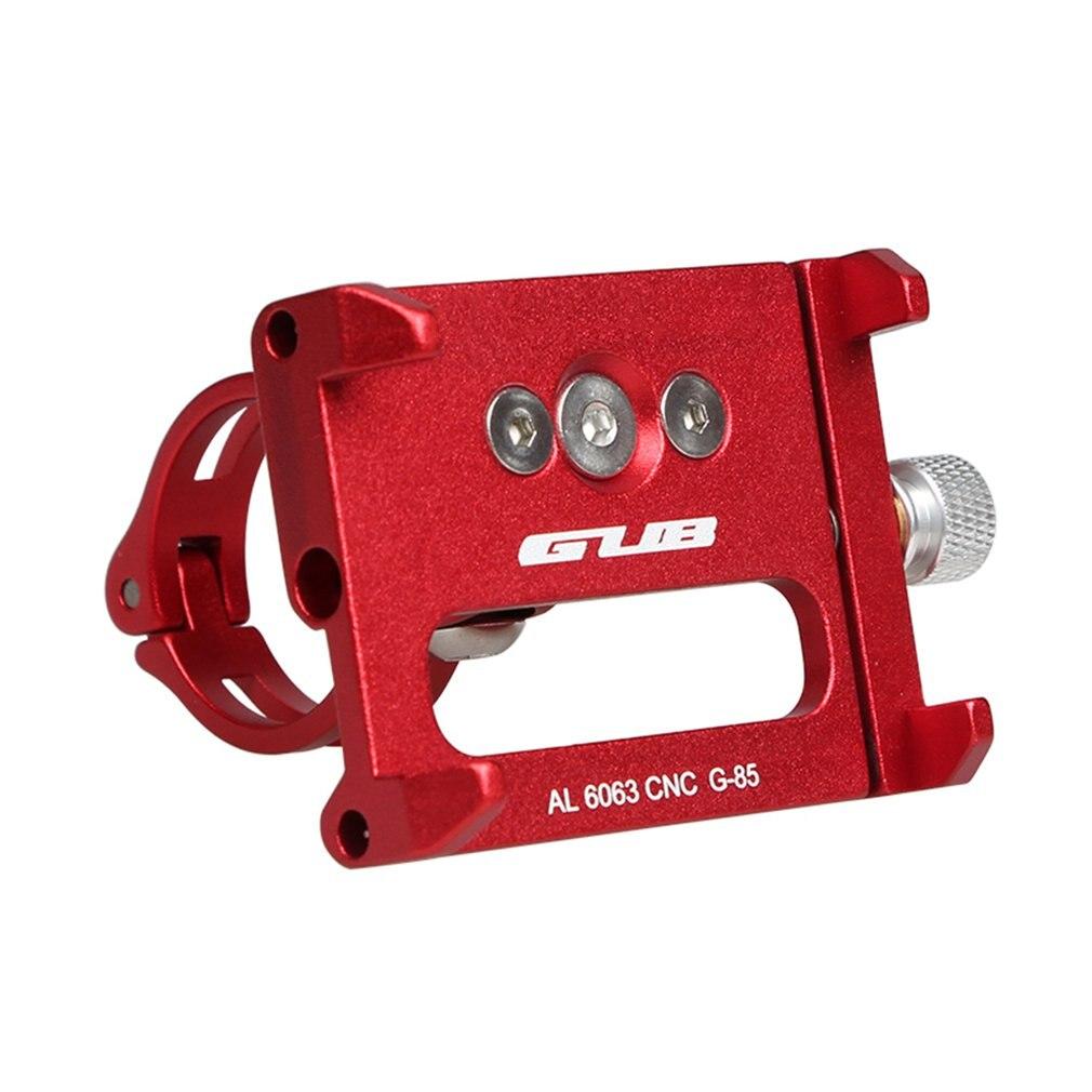 GUB G-85 алюминиевый сплав держатель для мобильного телефона зажим для мобильного телефона мотоцикл велосипед для навигации по мобильному тел...