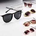 Солнцезащитные Очки для Женщин Мужчины Ретро Круглый Очки Металлический Каркас Ногу Очки 5 Цветов Солнцезащитные Очки