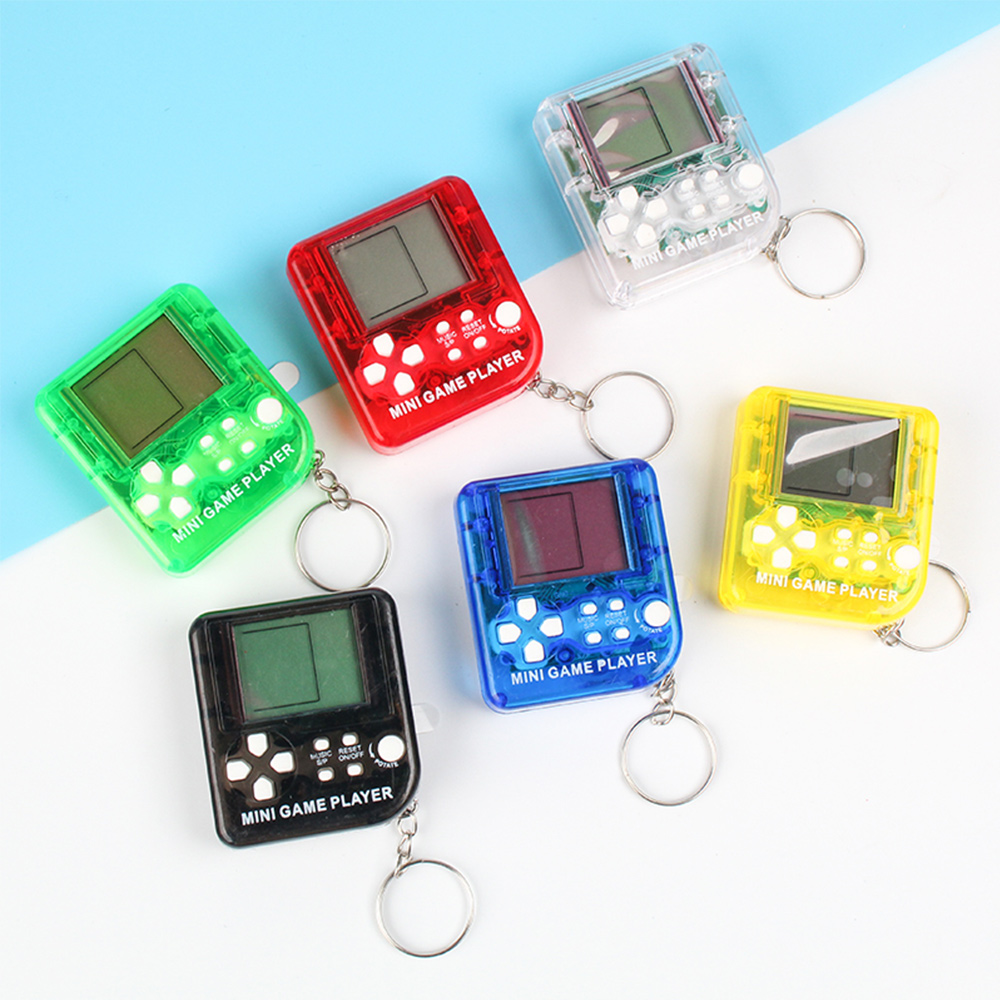 Billede af Mini Tetris Handheld Game Consoles Portable LCD Players Built-in 26 Games Anti-Stress Kids Educational Electronic Classic Toys