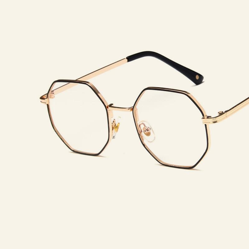 Ultraleicht Titan Brillen Rahmen Frauen Männer Persönlichkeit Runde ...