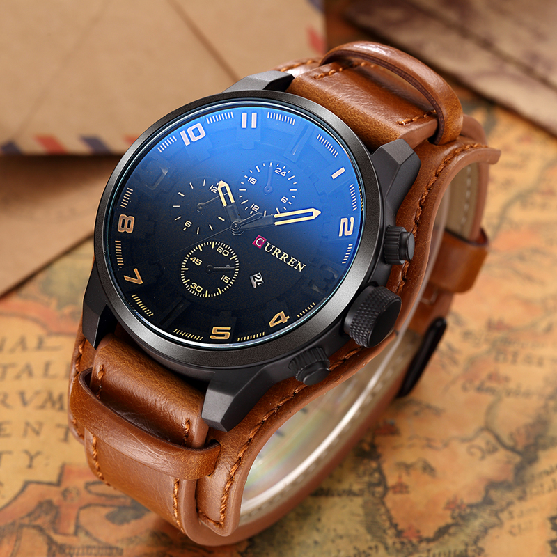 Элитные мужские часы Curren 8225 в Невинномысске