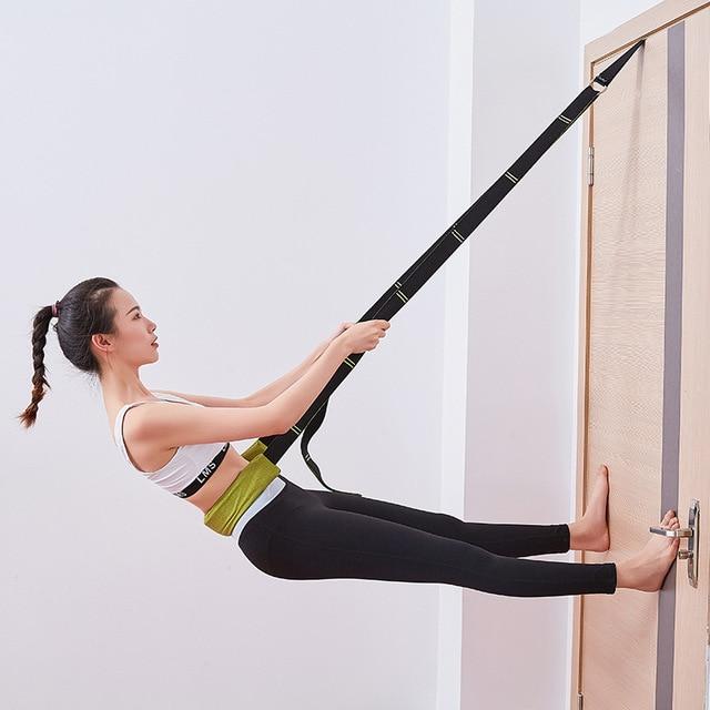 Split legs Yoga Stretch Belt Strap Ballet Dance Gymnastics Calisthenics Training Yoga Stretch Belt Home Gym Fitness Accessories 3