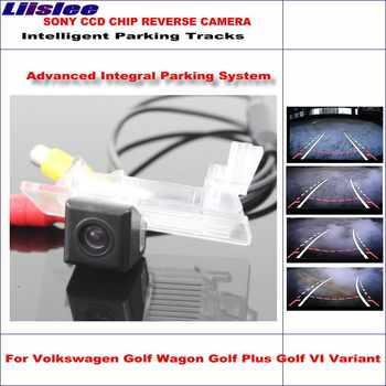 Liislee Dynamische Beratung Hinten Reverse Kamera Für Volkswagen Golf Wagon Plus VI Variante HD 860*576 Parkplatz Intelligentized