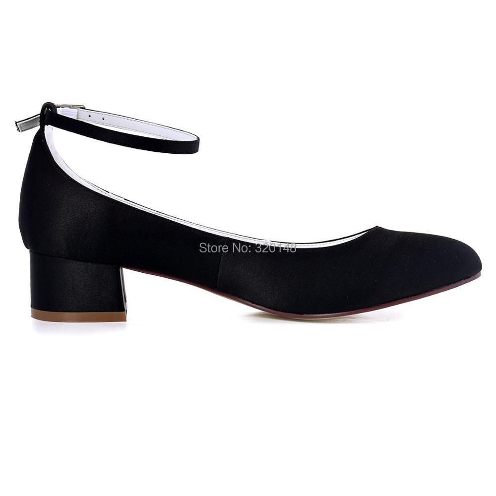 Aliexpress Buy FC1613 Shoes Woman Black Closed Toe Block