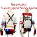 Harley Quinn Cosplay Comando Suicida Cinturón/Guante/Pulsera/Pistolera Accesorios de Disfraces de Halloween Cosplay arma Hombres y mujeres